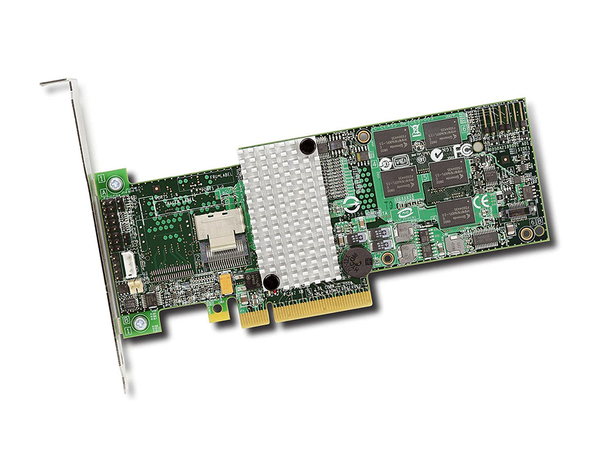 LSI LOGIC L3-25121-86C 9260-4I 6GB 4-Port Intern PCI-E SAS/SATA RAID-Controller Card